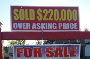 sold $200k over asking