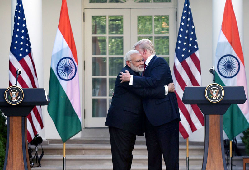 Modi, Trump bring hug diplomacy to India-US relations