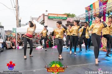 Bollywood dance.