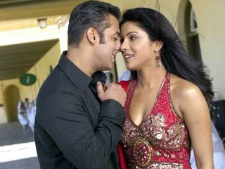 Salman Khan and Priyanka Chopra.